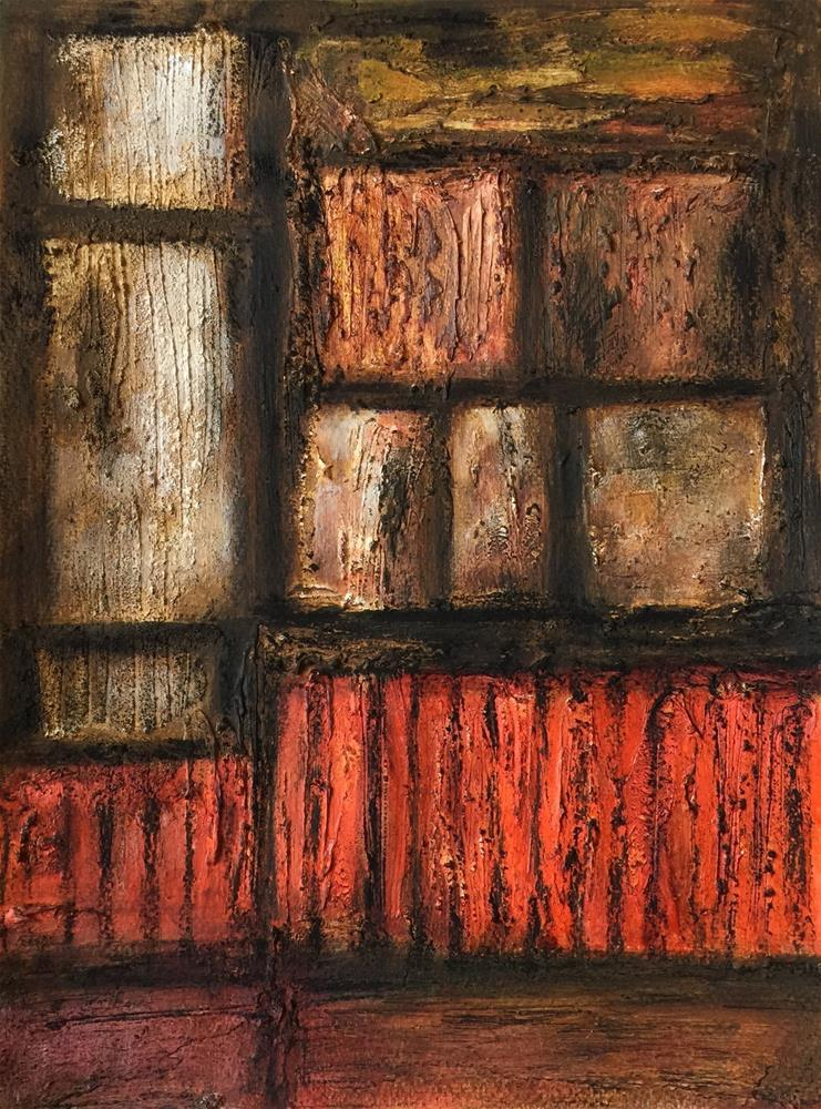 """Windows"" original fine art by Monica Pinotti"