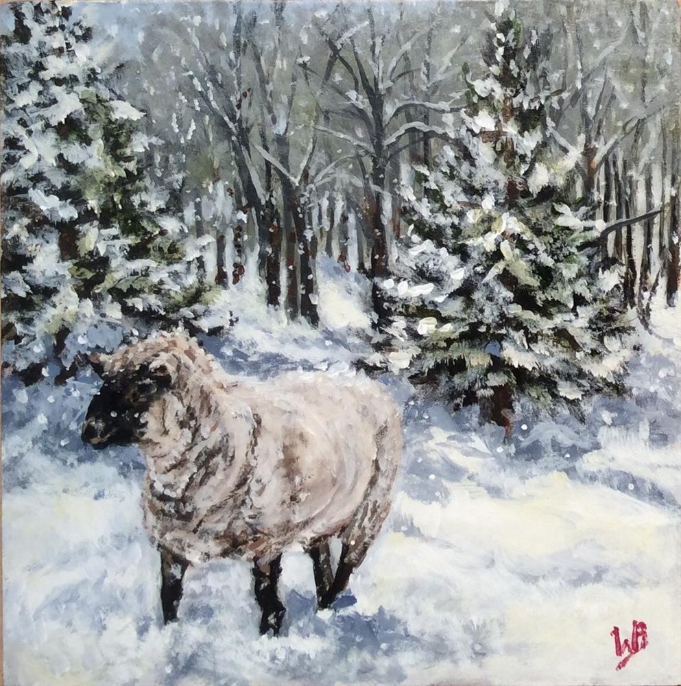 """He'll Find Me"" original fine art by wendy black"