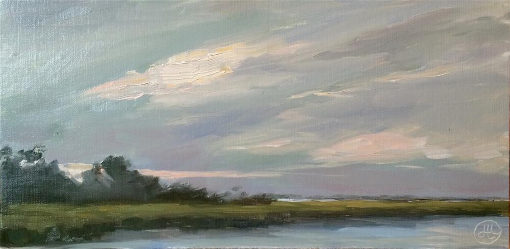 """September dawn"" original fine art by Dottie  T  Leatherwood"