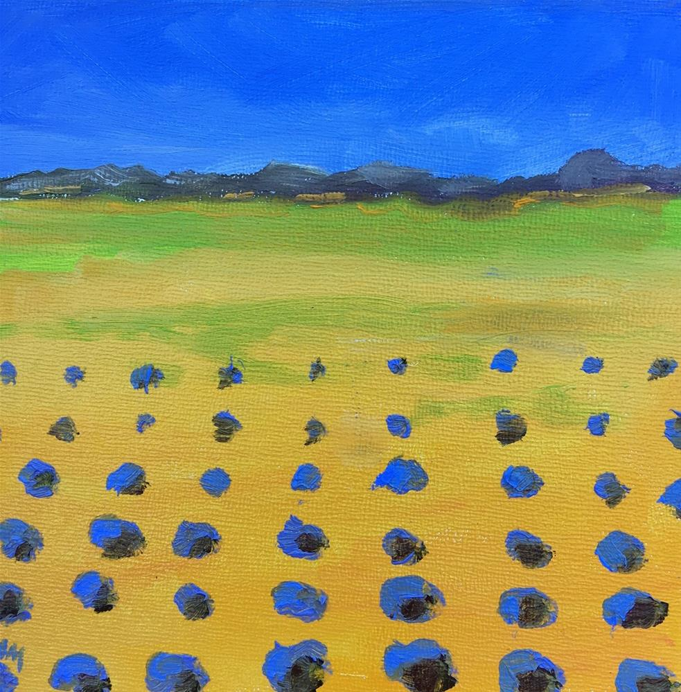 """Lavender Fields"" original fine art by Maria McNitt"