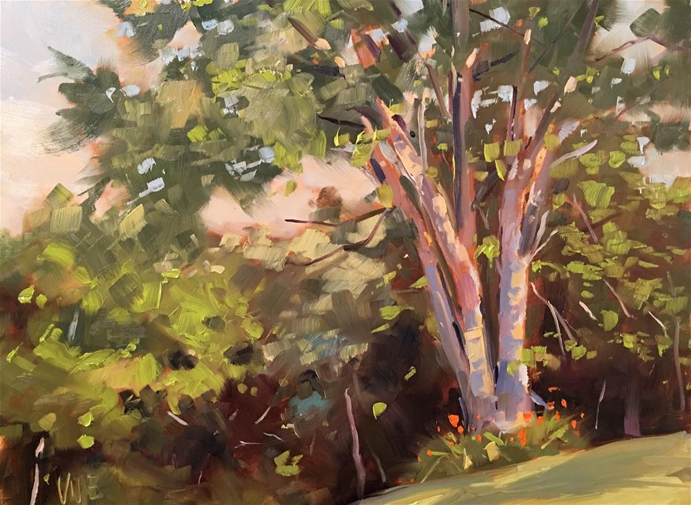 """412 Start of Fall"" original fine art by Patty Voje"
