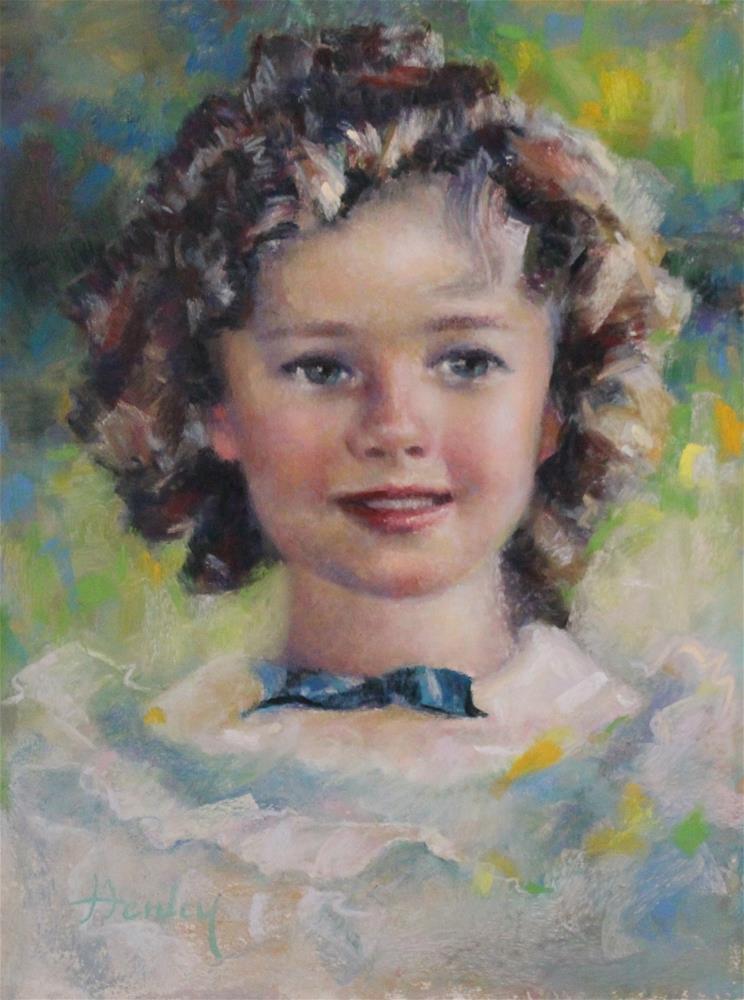 """Shirley"" original fine art by Denise Henley"