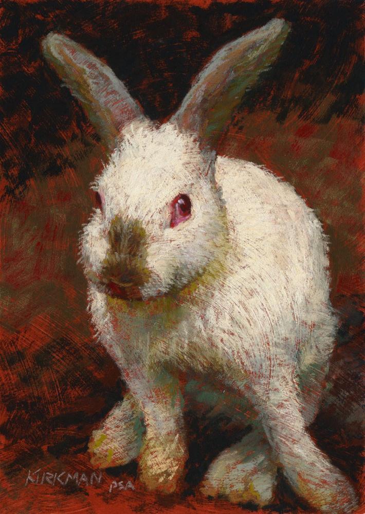 Timid original fine art by Rita Kirkman