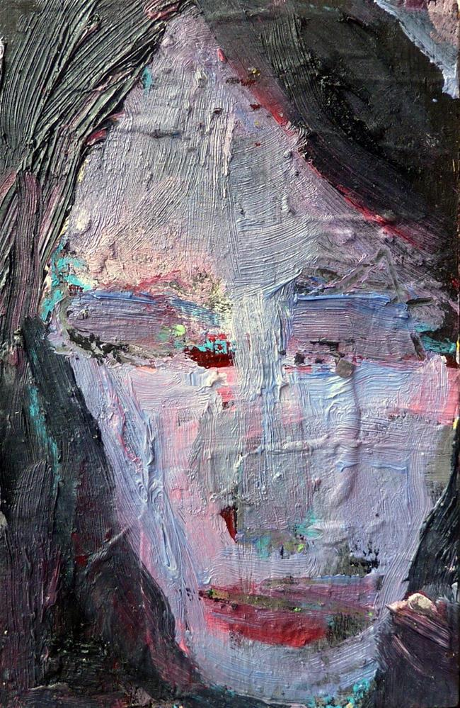 """GIRL - Portrait"" original fine art by Mila Plaickner"