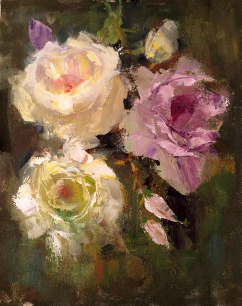 """Sisters, 9x12"" original fine art by Ann Feldman"