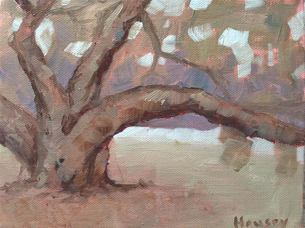 """October Morning"" original fine art by Bruce Housey"