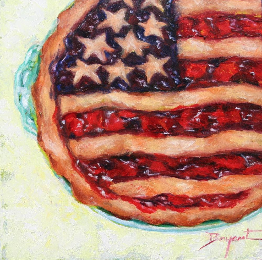 """American Pie"" original fine art by Debra Bryant"