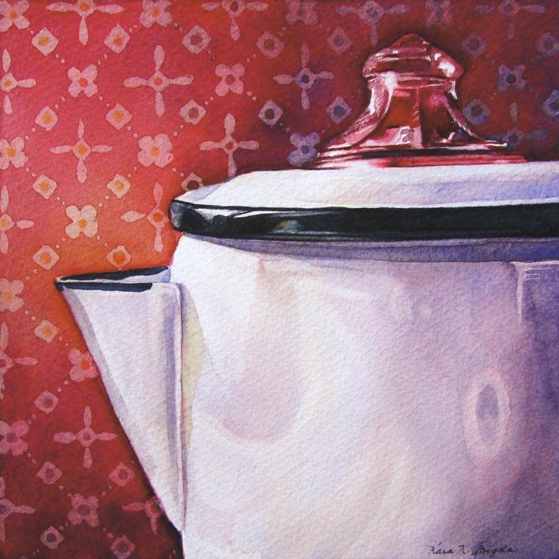 """""""Percolating"""" original fine art by Kara K. Bigda"""