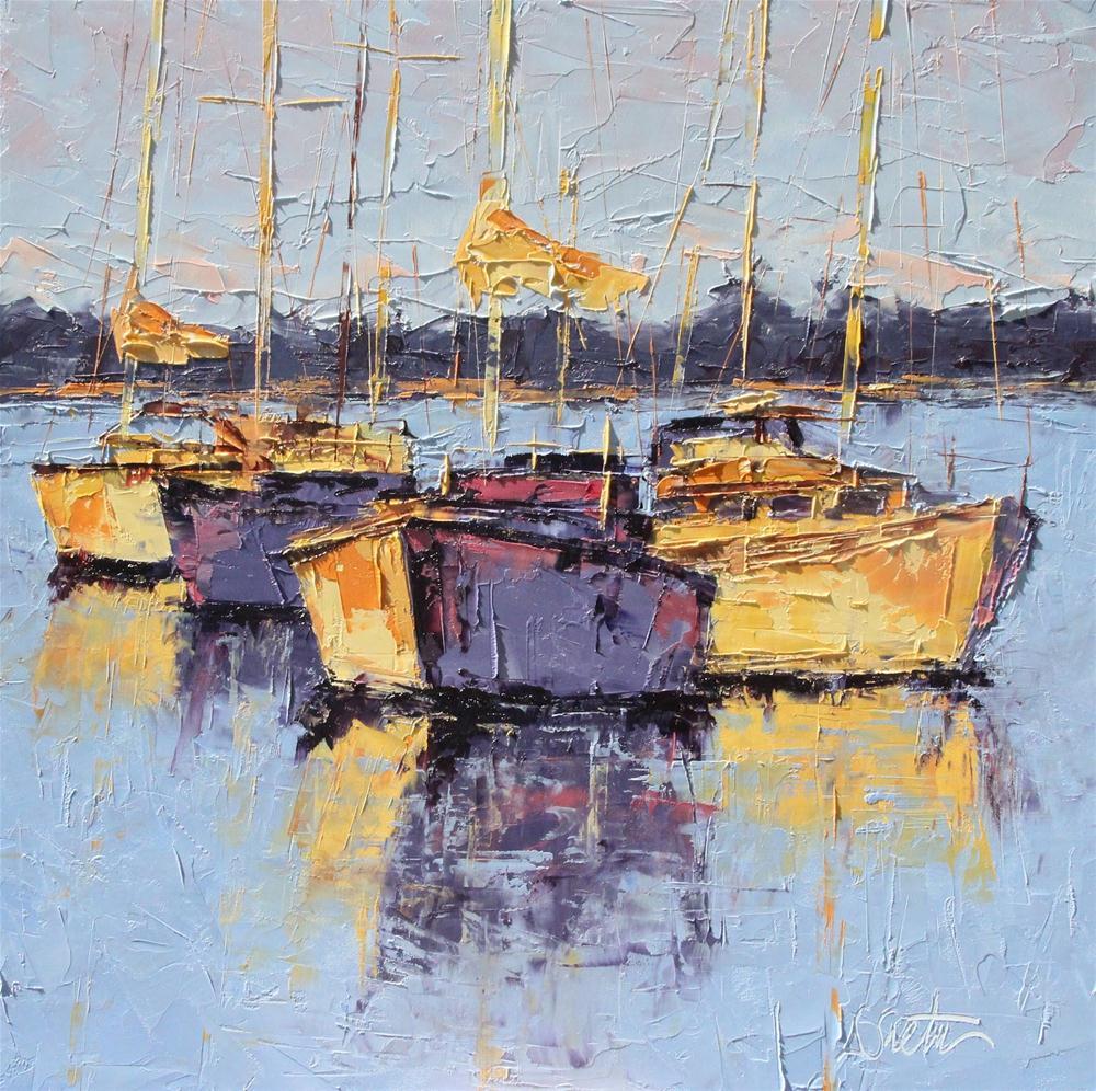 """Balboa Afternoon - SOLD"" original fine art by Leslie Saeta"