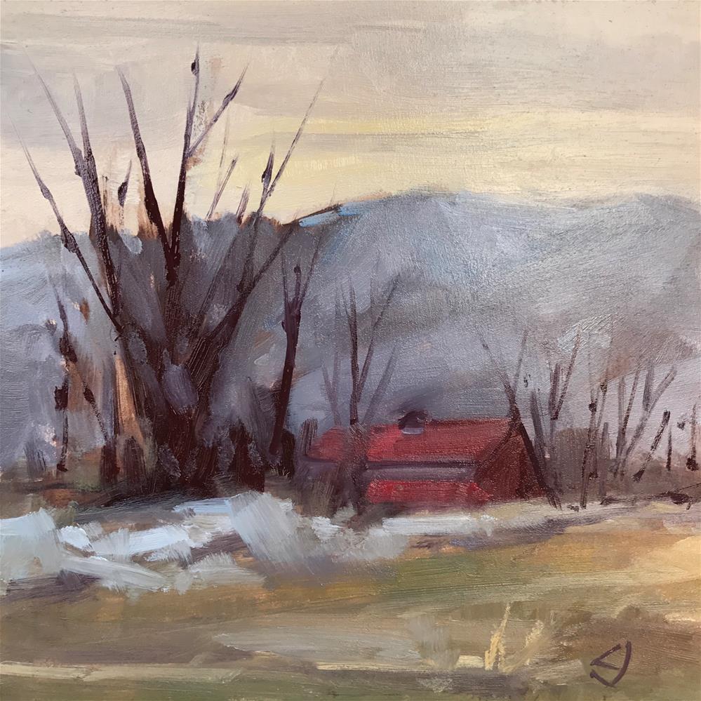"""52 March Forth"" original fine art by Carol Johansen"