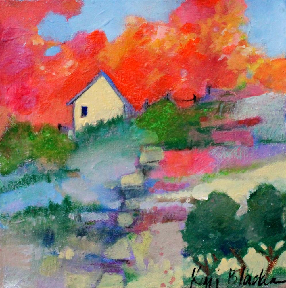 """The Walk Home "" original fine art by Kerri Blackman"
