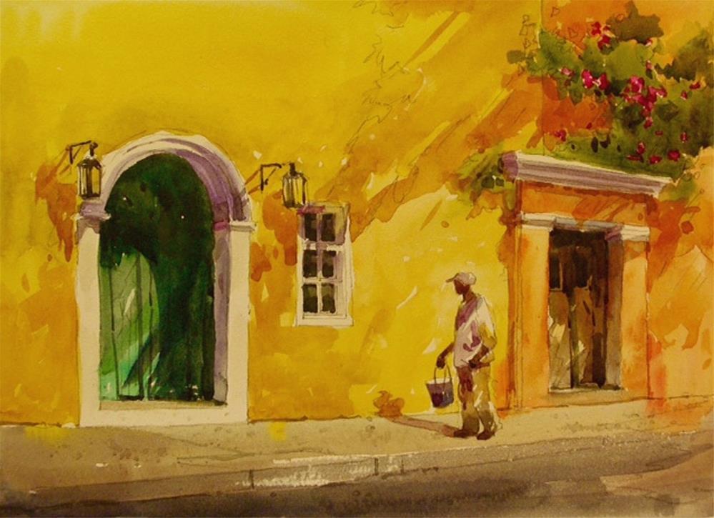 """Doorways"" original fine art by Tan Gillespie"
