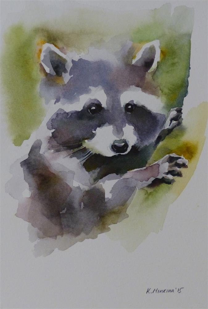 """adopt150"" original fine art by Katya Minkina"