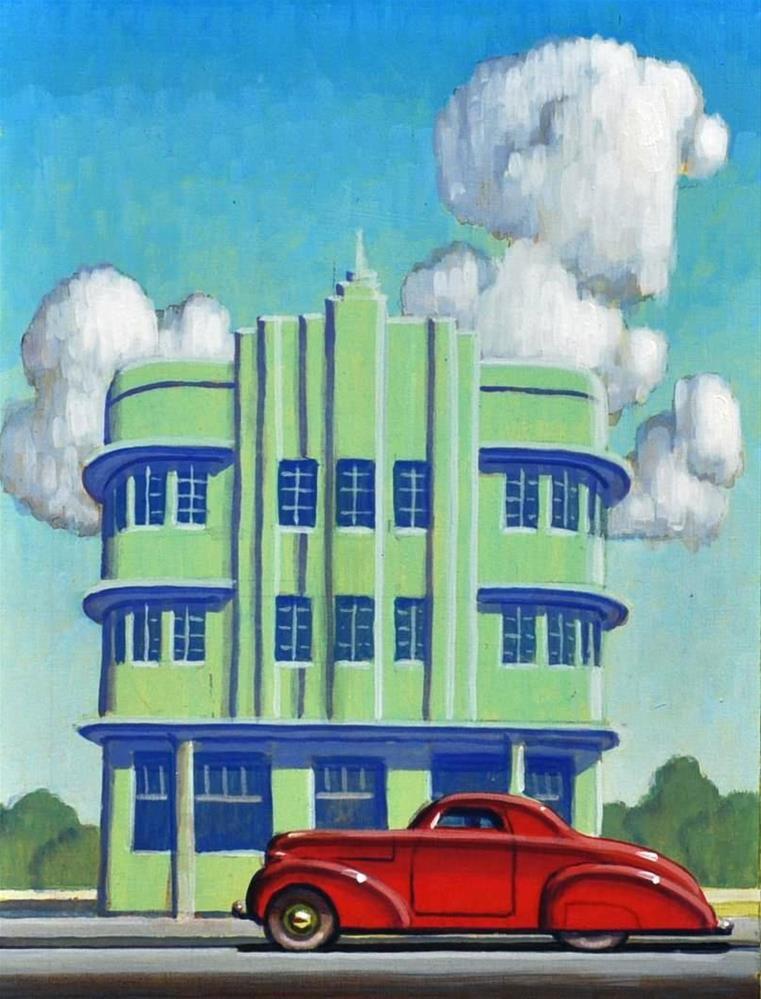 """Miami Deco"" original fine art by Robert LaDuke"