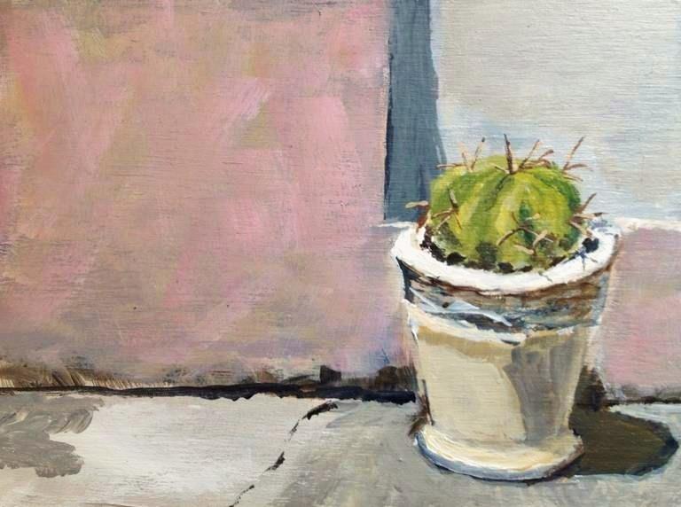 """""""Cactus"""" original fine art by Gary Bruton"""