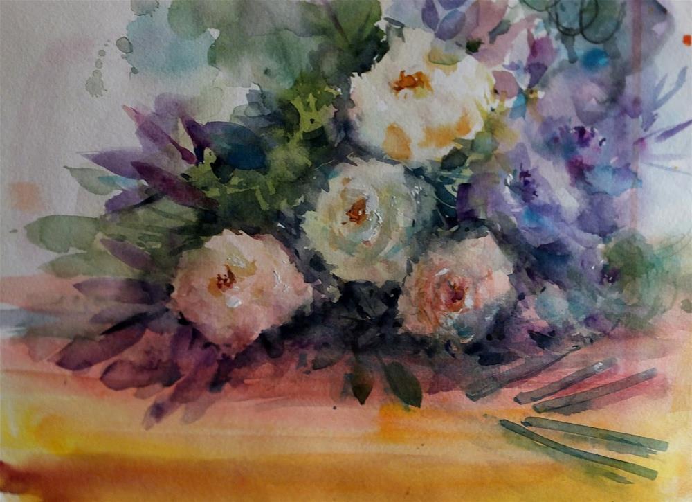 """""""August No.3"""" original fine art by Midori Yoshino"""