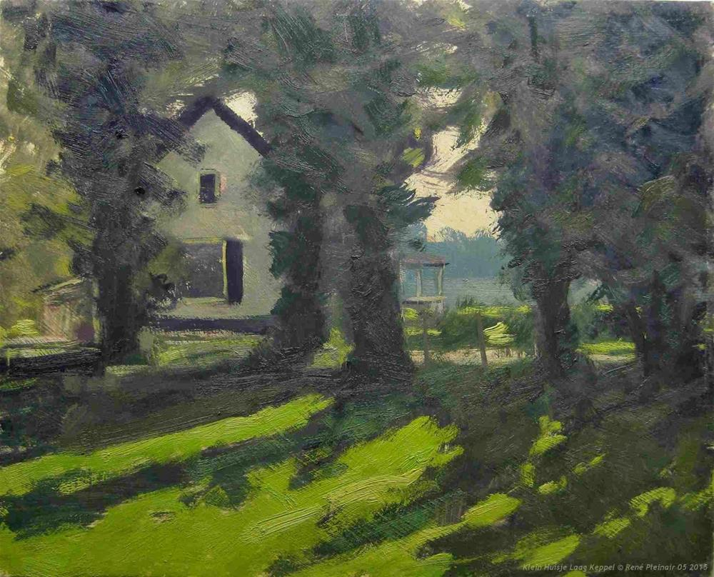 """Little house Laag Keppel The Netherlands"" original fine art by René PleinAir"