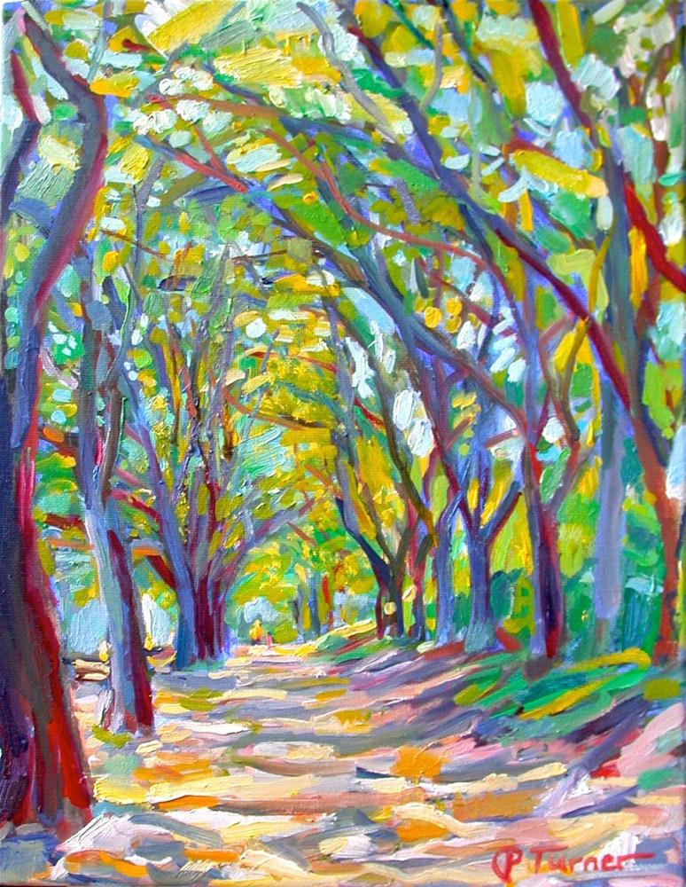 """Mulberry Row"" original fine art by Polly Turner"