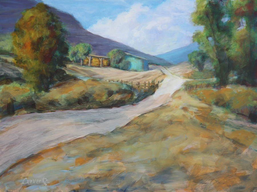 """Almost Home"" original fine art by Sue Cervenka"