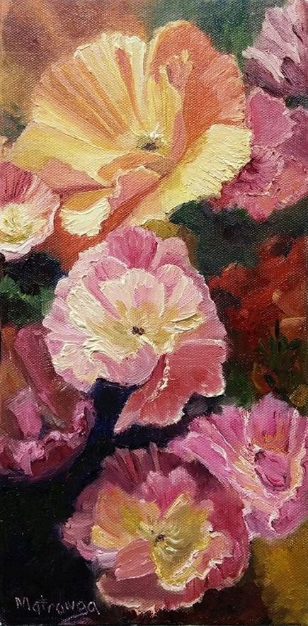 """Becoming Blossoms"" original fine art by Patricia Matranga"