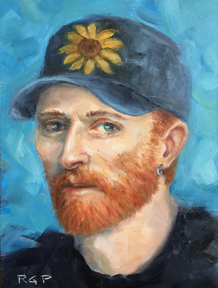 """""""Yo, Vinny!"""" original fine art by Rhea  Groepper Pettit"""