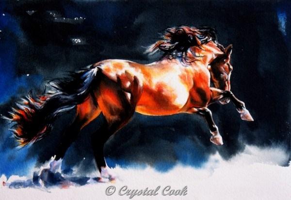 """""""Alive"""" original fine art by Crystal Cook"""