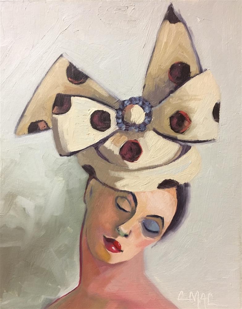 """The Hat"" original fine art by Carolyn McDonald"