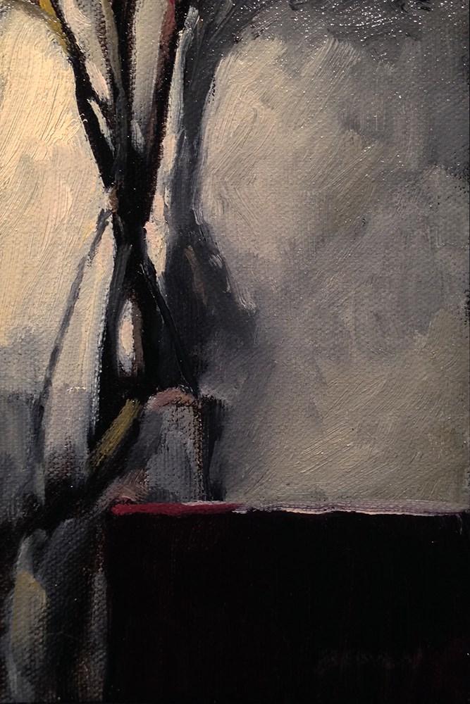 """Tree lamp light"" original fine art by Chris Beaven"