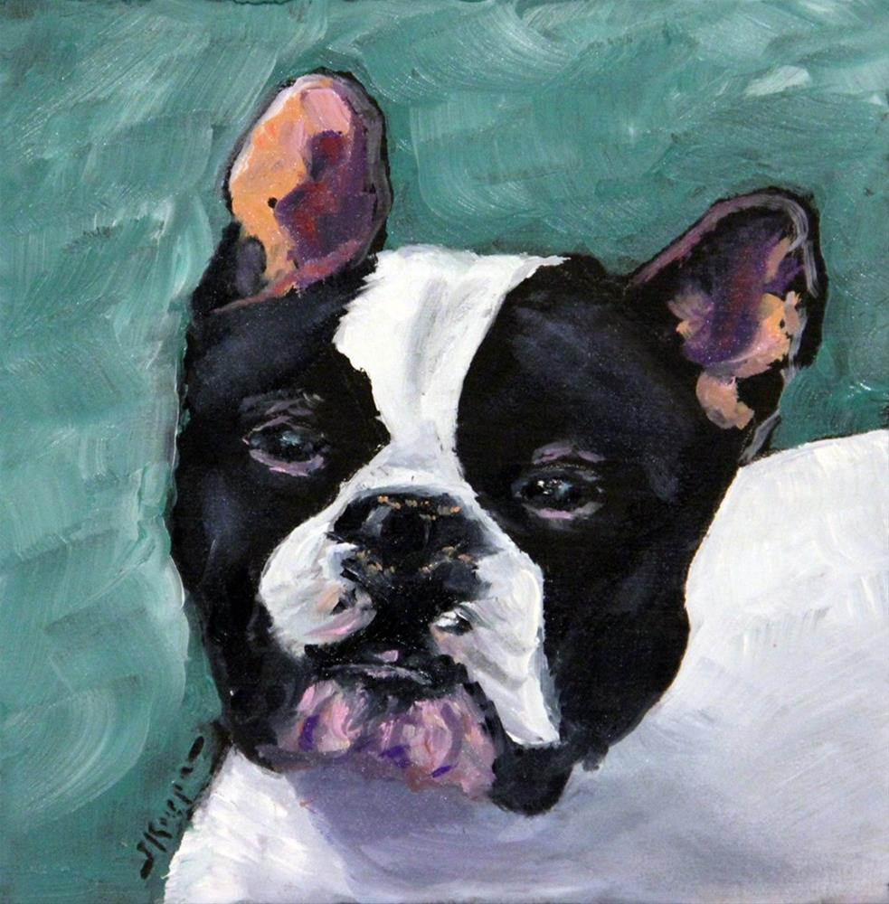 """Sherman"" original fine art by Shelley Koopmann"