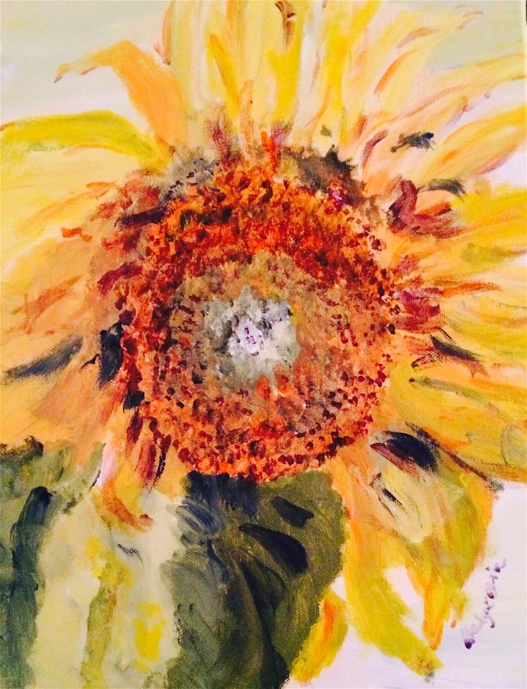 """Sunflower"" original fine art by Gary Price"