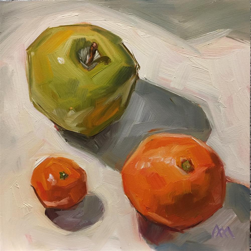 """Apple and Oranges"" original fine art by Austin Maloney"
