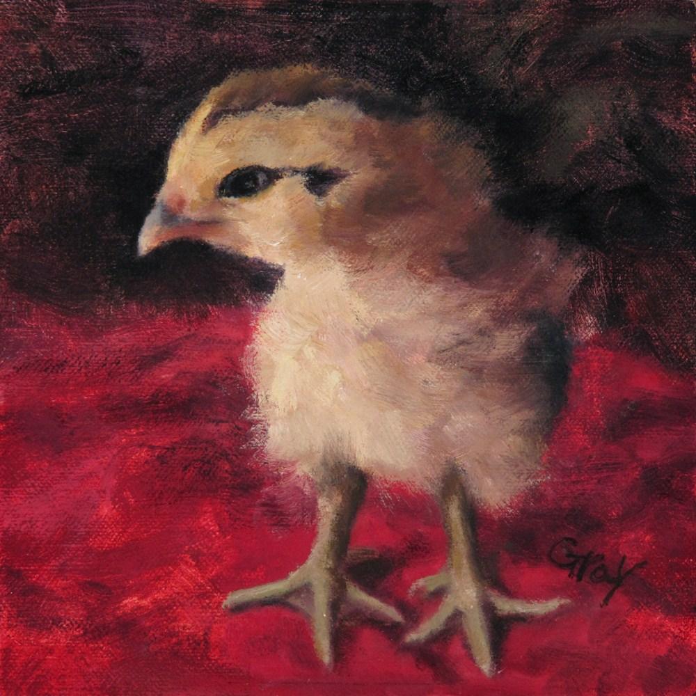 """Baby Minie"" original fine art by Naomi Gray"