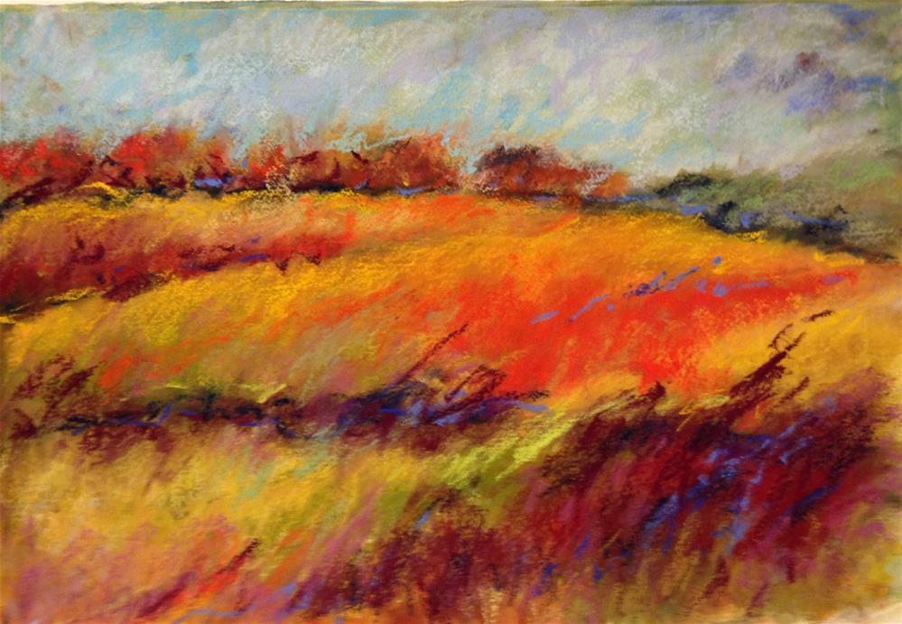 """Harvest"" original fine art by Rita Corrigan"