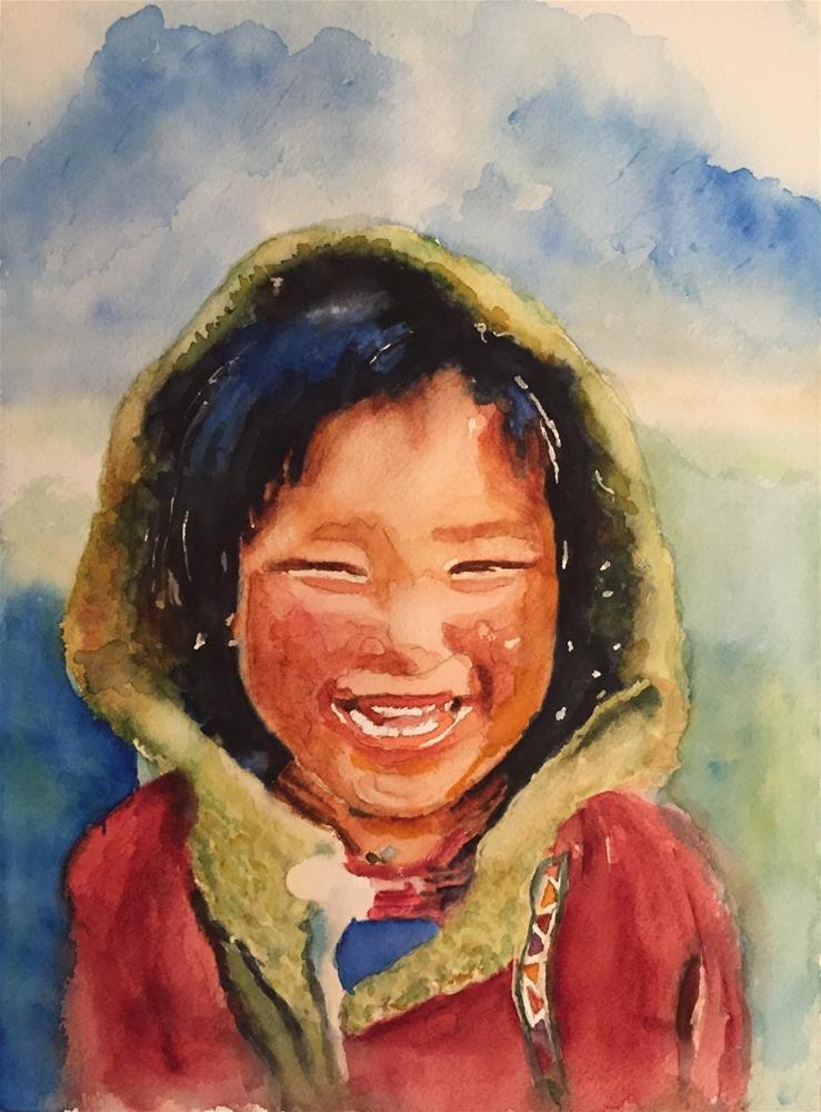 """""""Lily"""" original fine art by Melissa Gresham"""