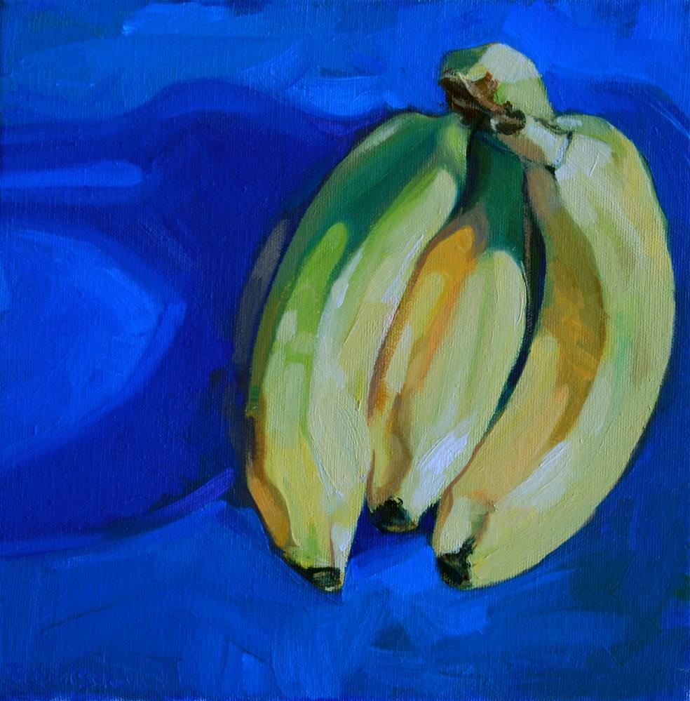 """Bananas 2"" original fine art by Jane Robertson"