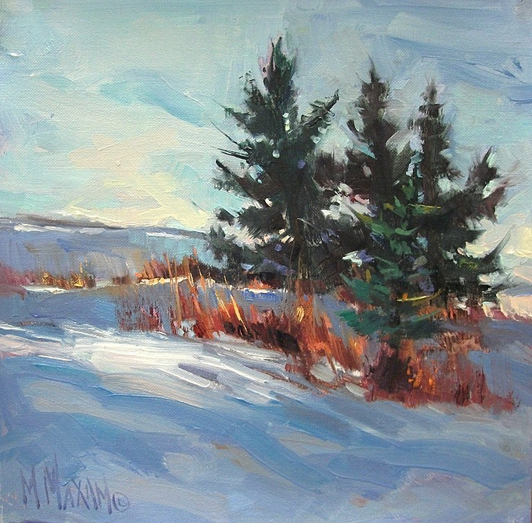 """""""Stand Together"""" original fine art by Mary Maxam"""