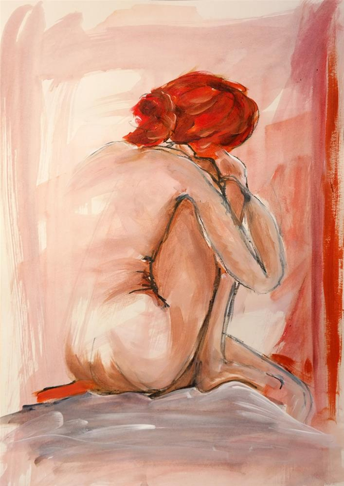 """0951 Back View"" original fine art by Dietmar Stiller"