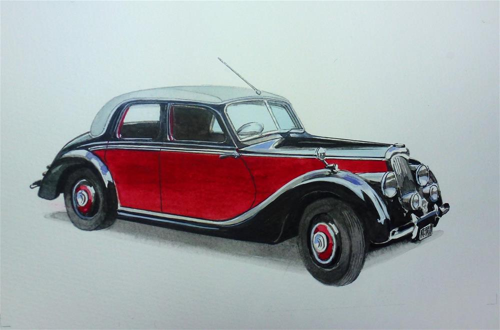 """Riley 1950"" original fine art by John Monney"