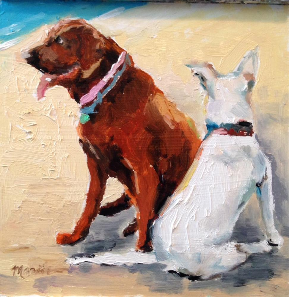 """Beach Buds"" original fine art by Marcia Hodges"