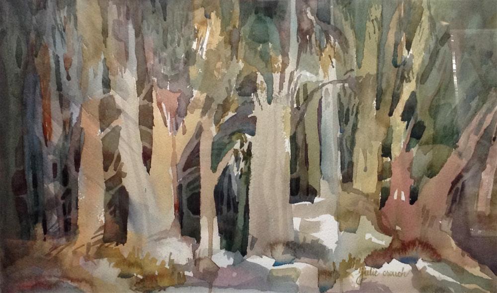 """""""Eucalyptus"""" original fine art by Julie Crouch"""