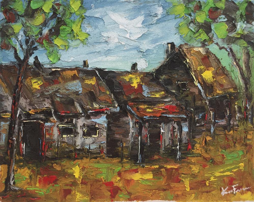 """Lost in Time"" original fine art by Ken Fraser"