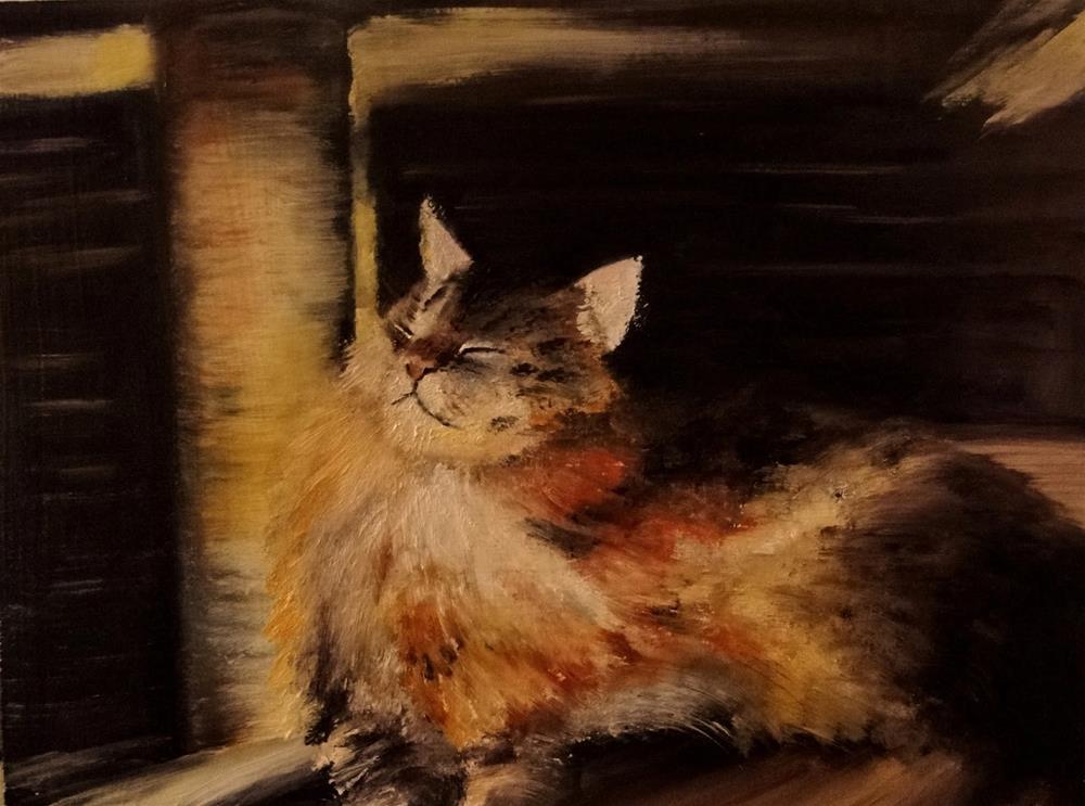"""""""Sun spot"""" original fine art by Karen Robinson"""