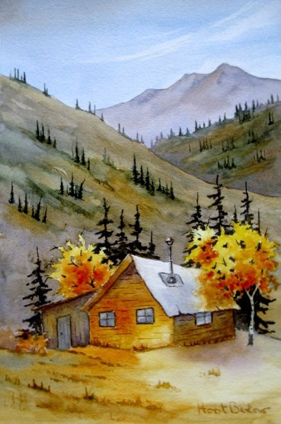 """Fall Day"" original fine art by Horst Berlow"