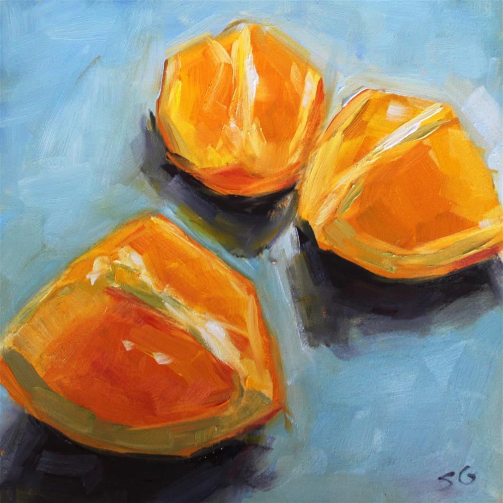 """Juicy Fruit"" original fine art by Susan Galick"