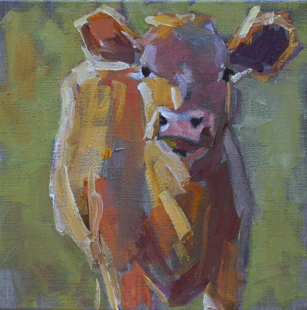 """my girl"" original fine art by Carol Carmichael"