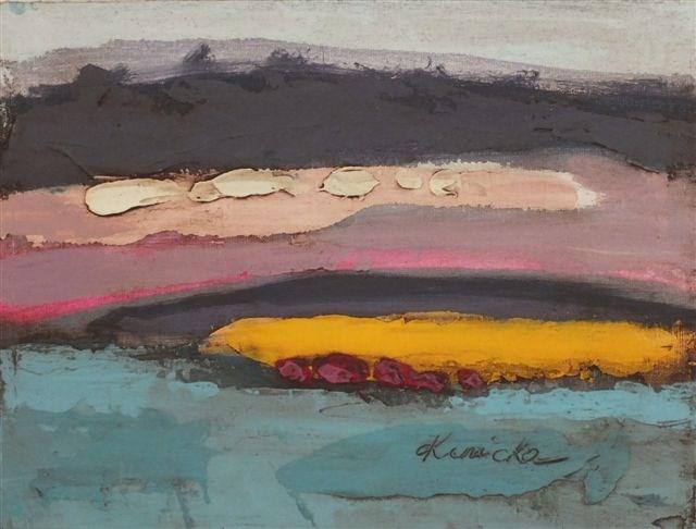 """Landscape 15"" original fine art by Ewa Kunicka"