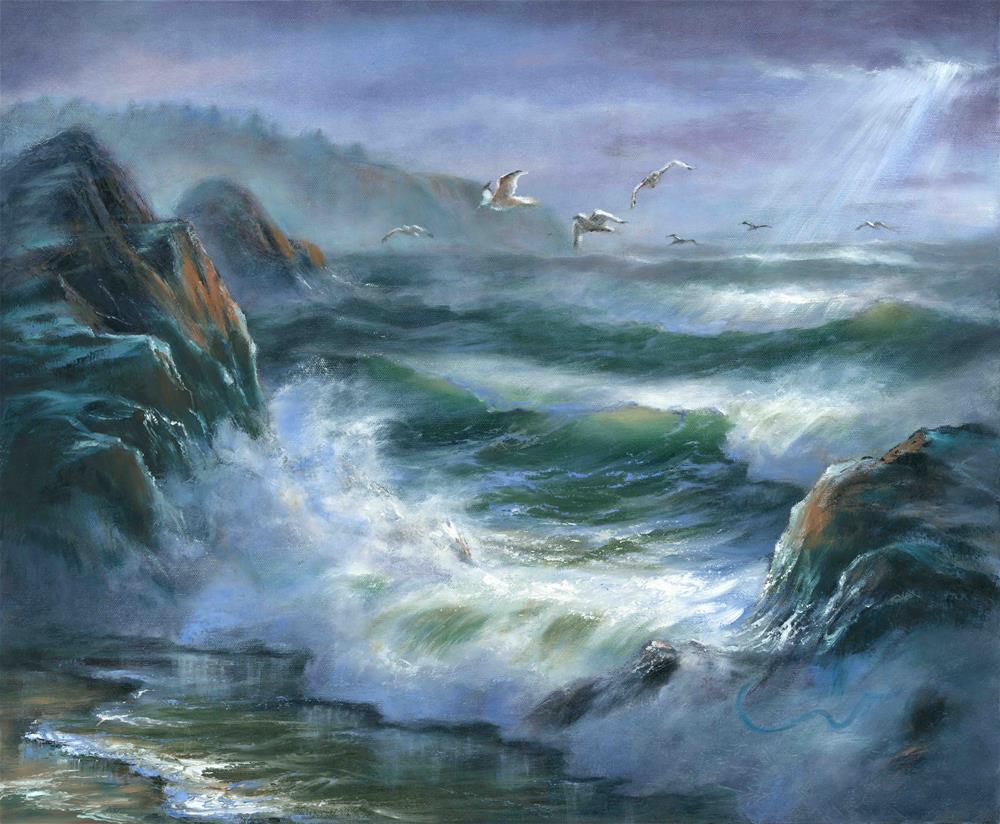 """""""Concerto"""" original fine art by Sharon Abbott-Furze"""