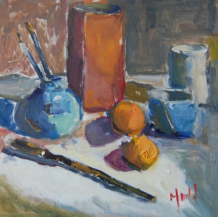 """""""Still Life 3"""" original fine art by Deborah Harold"""