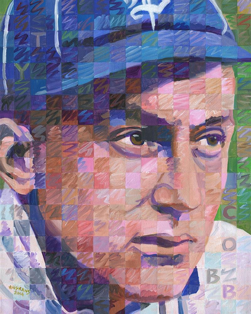 """Ty Cobb"" original fine art by Randal Huiskens"