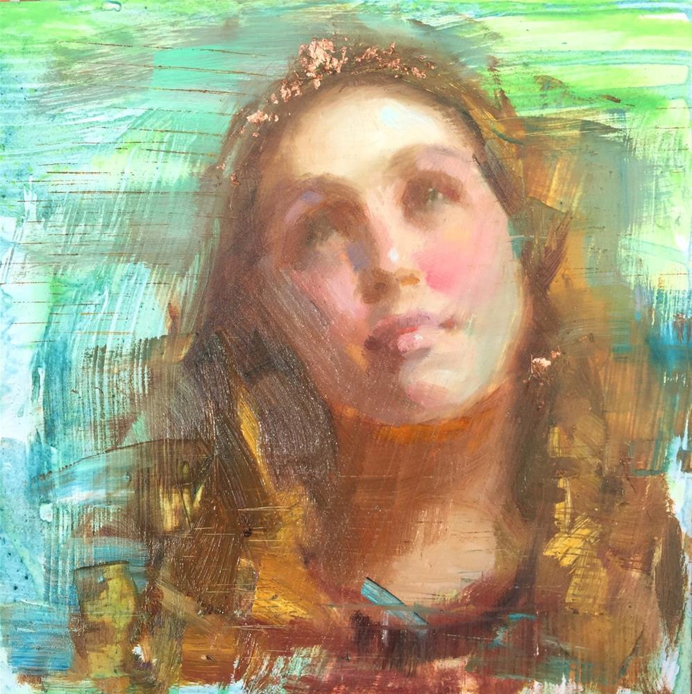 """Ahead..."" original fine art by Johanna Spinks"